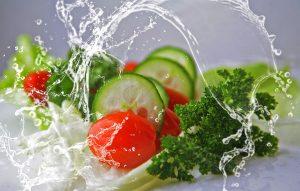 Recettes de salades de tomates et de pomme verte