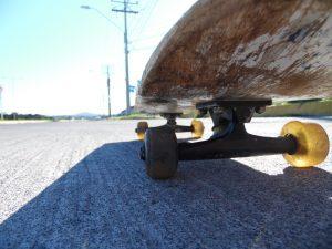 Un skate électrique très pratique